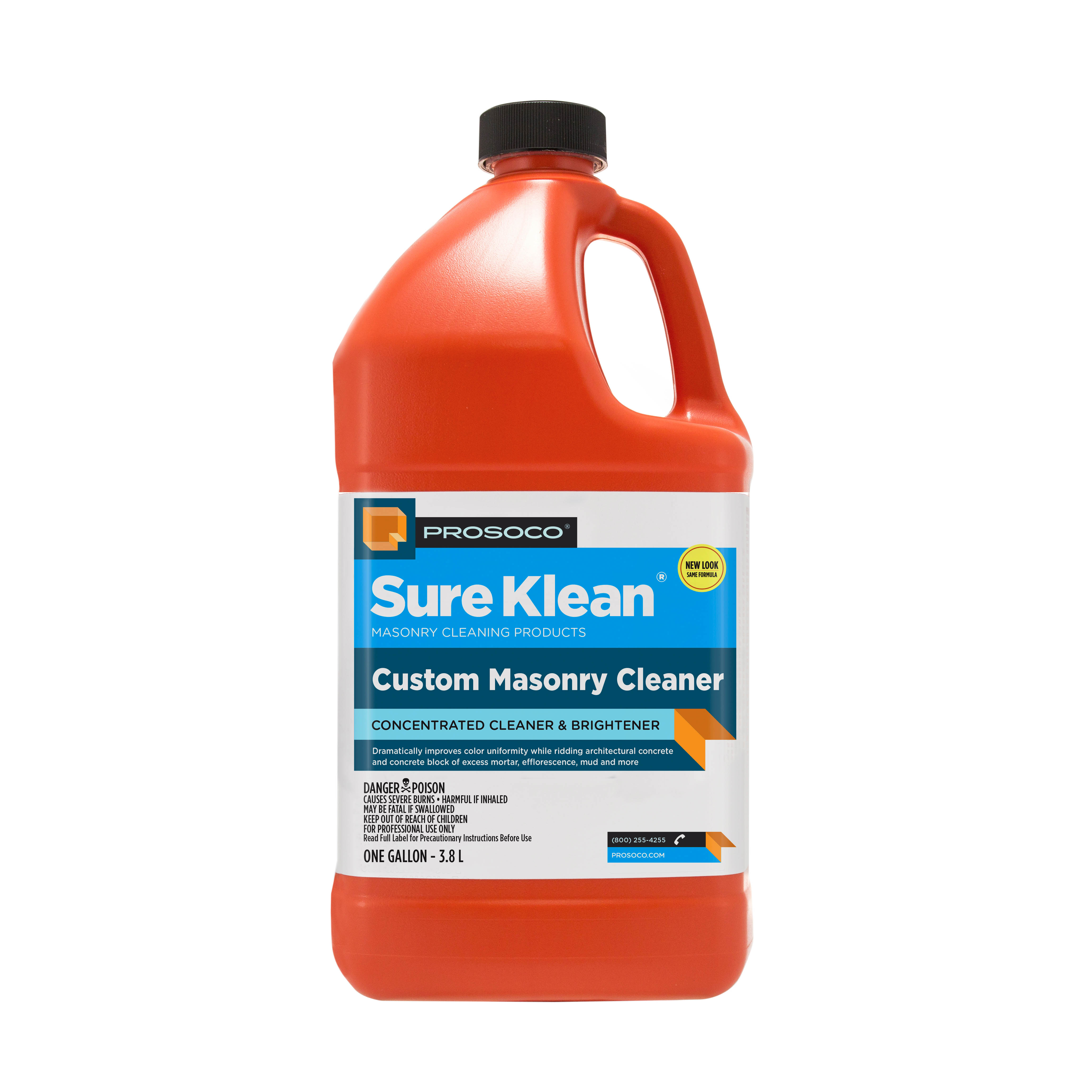 Prosoco Sure Klean® Custom Masonry Cleaner, 1-gal.