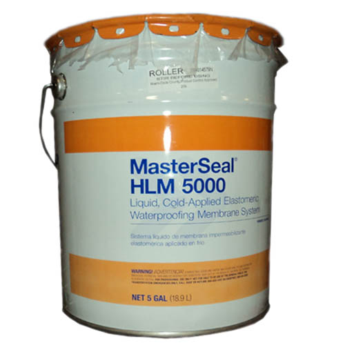 MasterSeal® HLM 5000 S, Spray Grade Waterproofing, 5-gal.