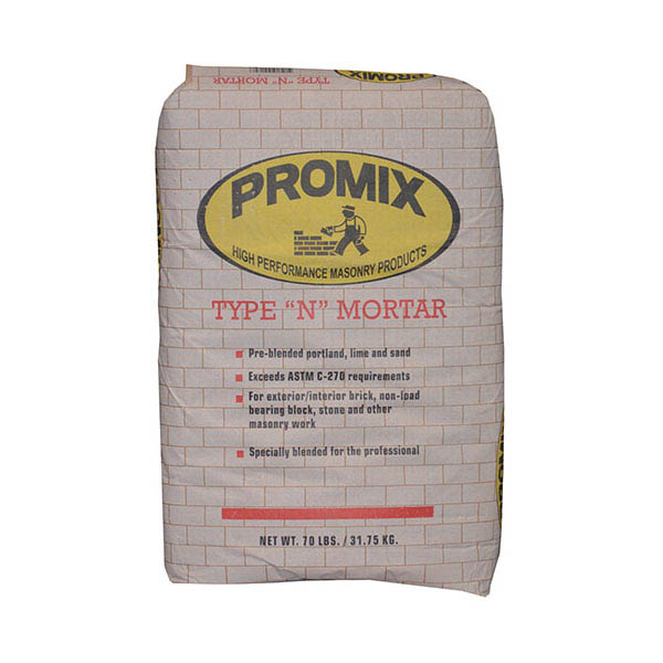 U-Mix PROMIX® Pre-blended Portland Lime and Sand Mix Mortar Type N, 70-lb.