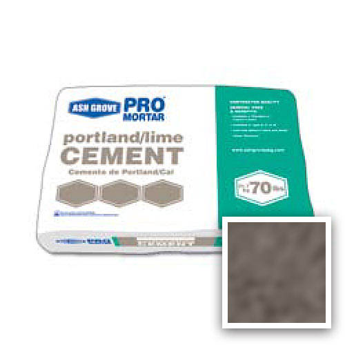 Ash Grove Pro Mix® Cement Portland/Lime Type N 70-lb., Chocolate - UMIX?