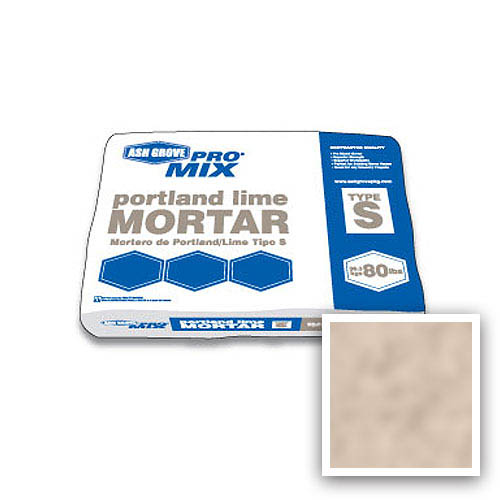 Ash Grove Pro Mix® Mortar Portland/Lime Type S 80-lb., Putty